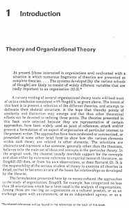 ترجمه مقاله Theories of organization Henry L Tosi